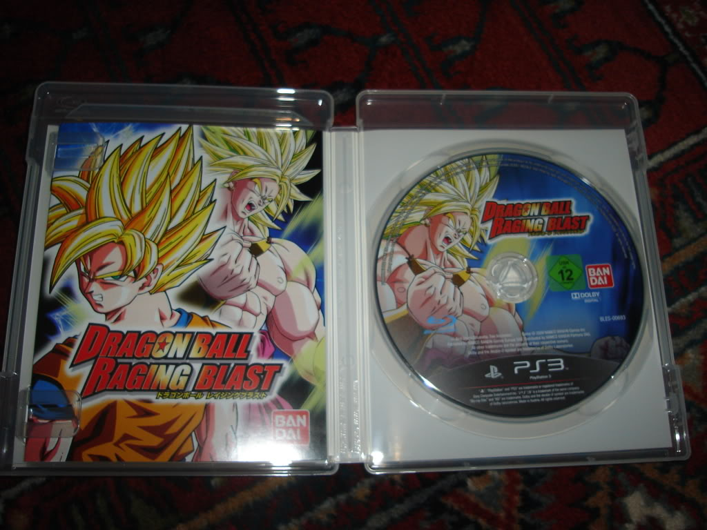 Dragon Ball Raging Blast / PS3 DSC01515