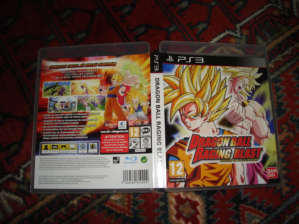 Dragon Ball Raging Blast / PS3 DSC01516