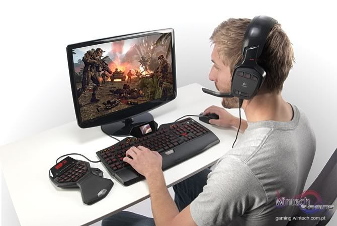 CES 2009: Logitech Apresenta Nova Linha de Periféricos Para Gaming Logitechgseries