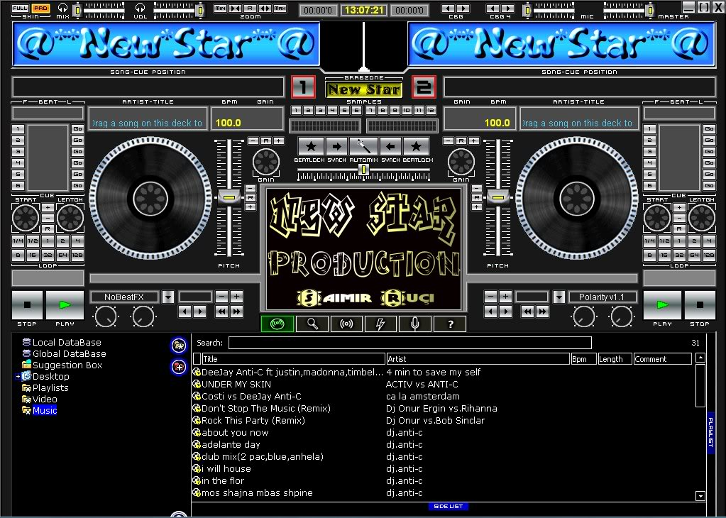 أصنع أغانيك بنفسك مع هذا البرنامج الرهيب Atomix Virtual DJ Professional 5-1