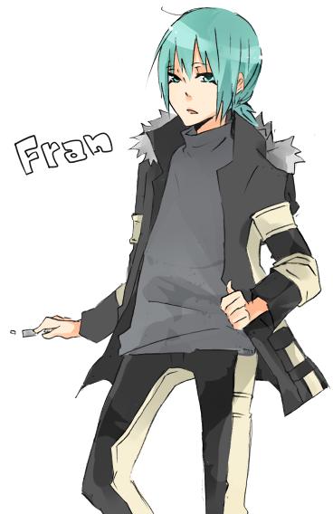 [Katekyo Hitman Reborn][Uncute Kouh -- I mean Fran.] Fr-
