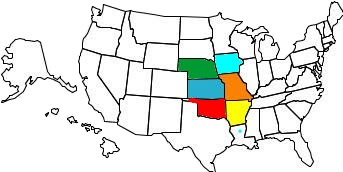 United States map of states you have visited !!! VisitedStatesMap
