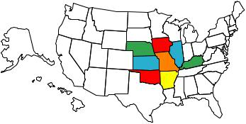 United States map of states you have visited !!! VisitedStatesMap2-1