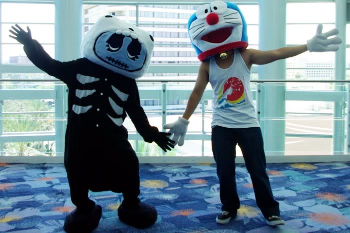 CANTA and DORAEMON Cosplay Finished