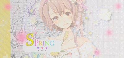 Firma del mes [Nº 2.] Spring