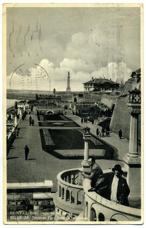 Istorija Beograda Kalemegdan-park-oko1931