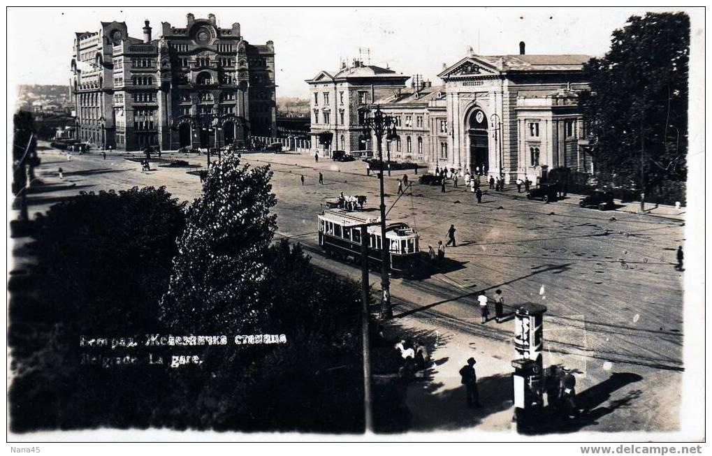 Istorija Beograda Zelezstanicatramiposta