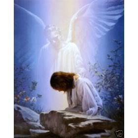 Mi amigo… el angel Oil-painting