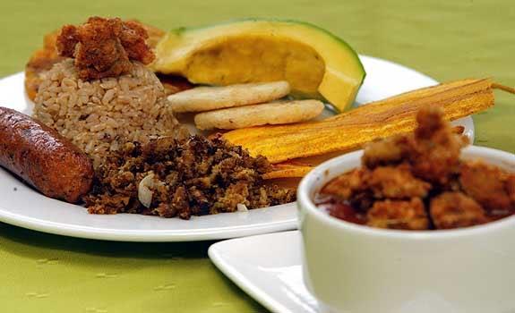 Medellin encantadora!! Bandeja-paisa-vegetariana