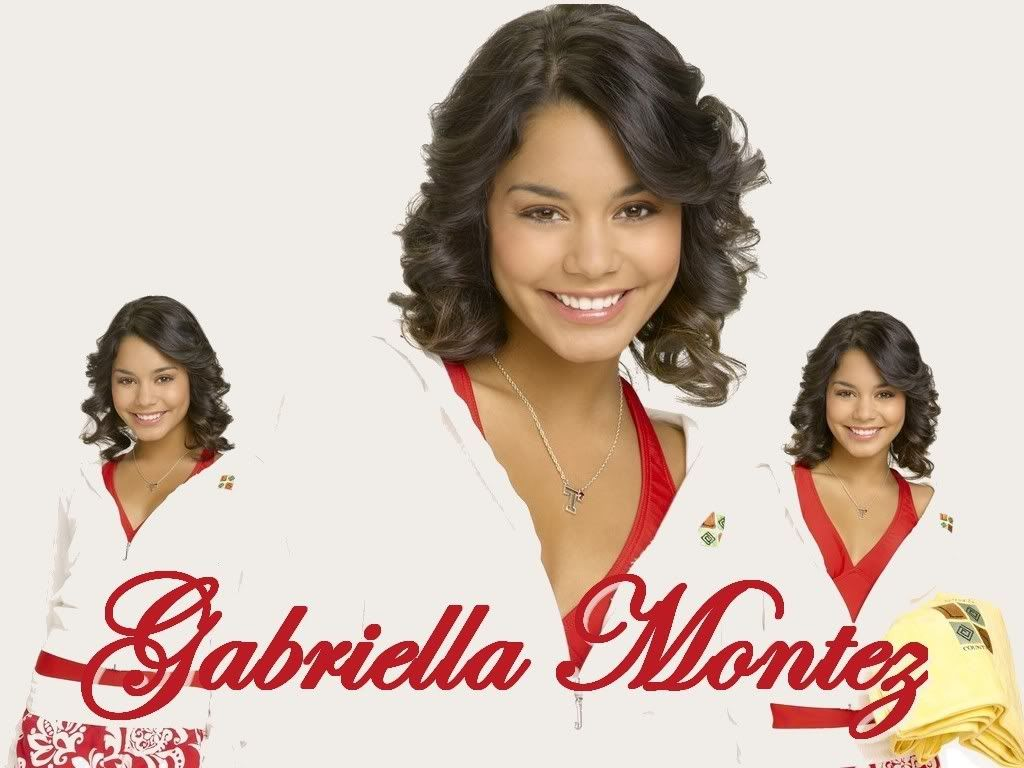 """High school musical"" 1,2,3 Gabriellamontez3"