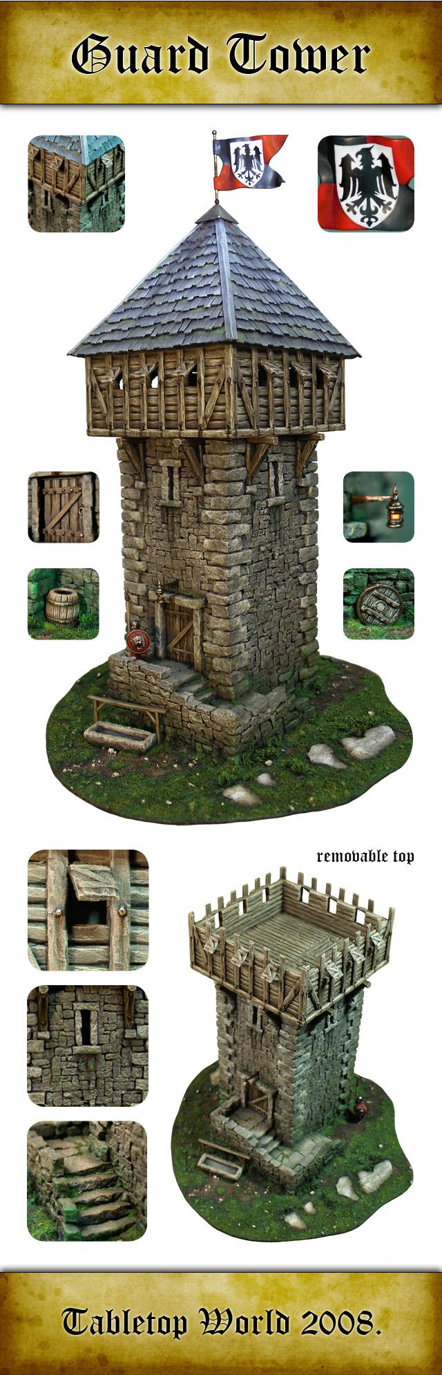Tabletop Scenery GuardTower