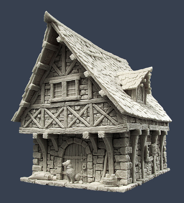 Tabletop Scenery - Page 16 TownH1