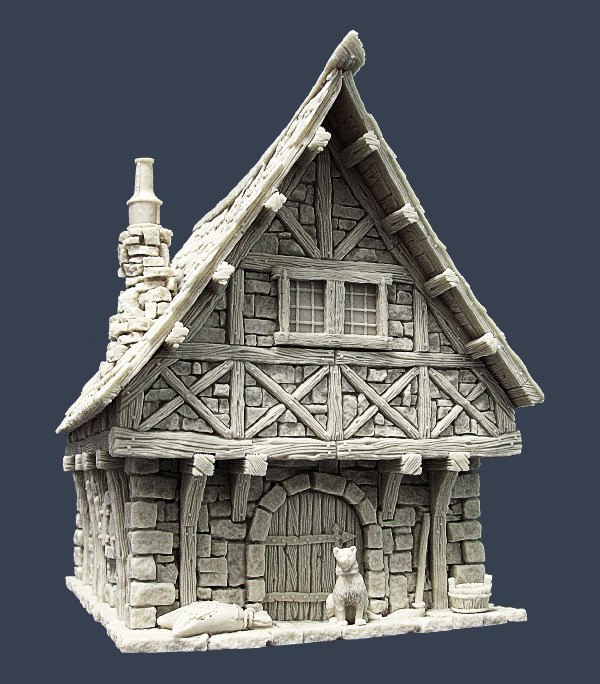 Tabletop Scenery - Page 16 TownH2