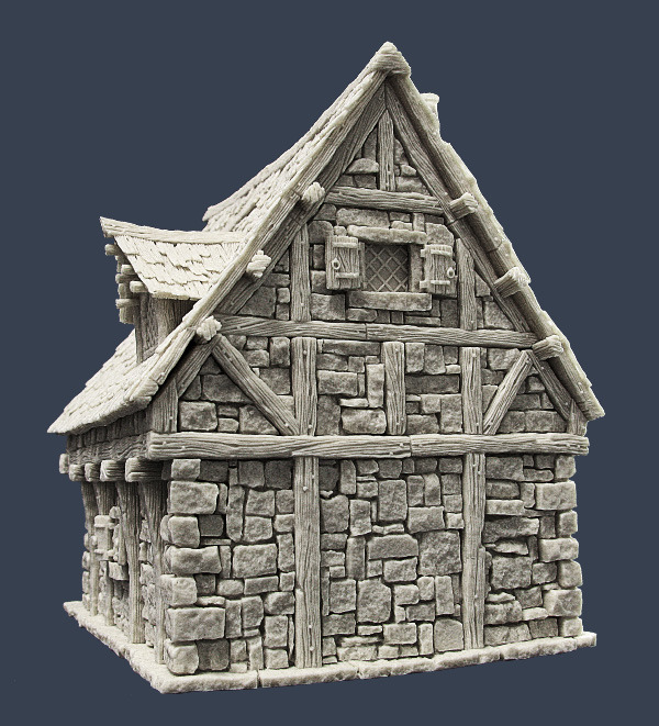 Tabletop Scenery - Page 16 TownH3