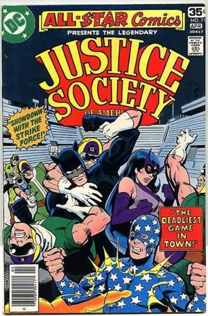 Justice Society of America: World's Greatest Heroes? All-StarComics71