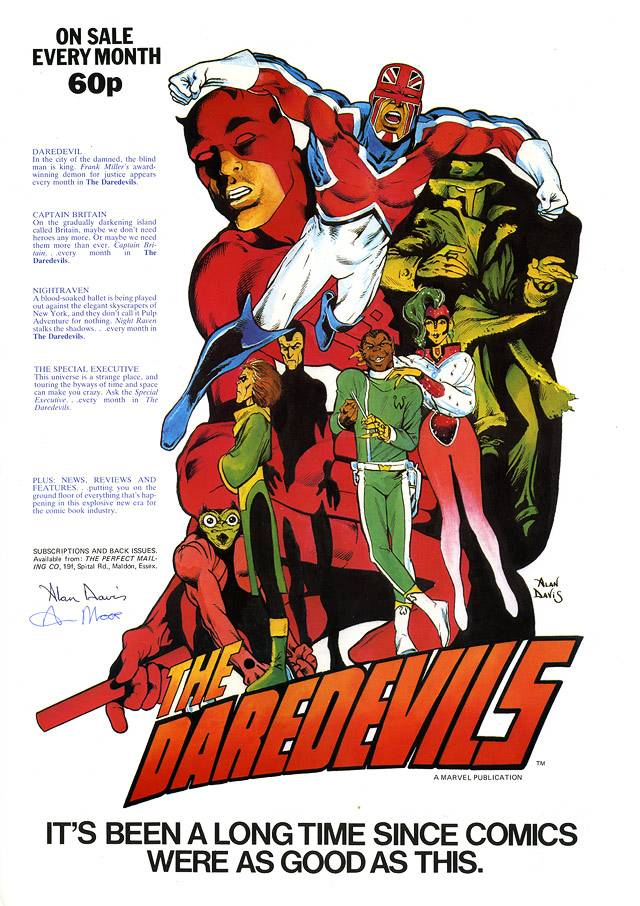 The Captain Britain Thread - Page 2 DaredevilsPoster