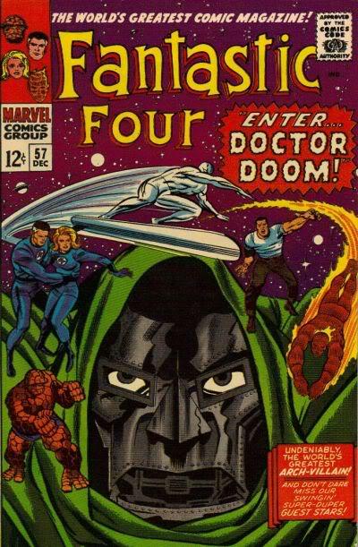 Classic Comic Covers FF57