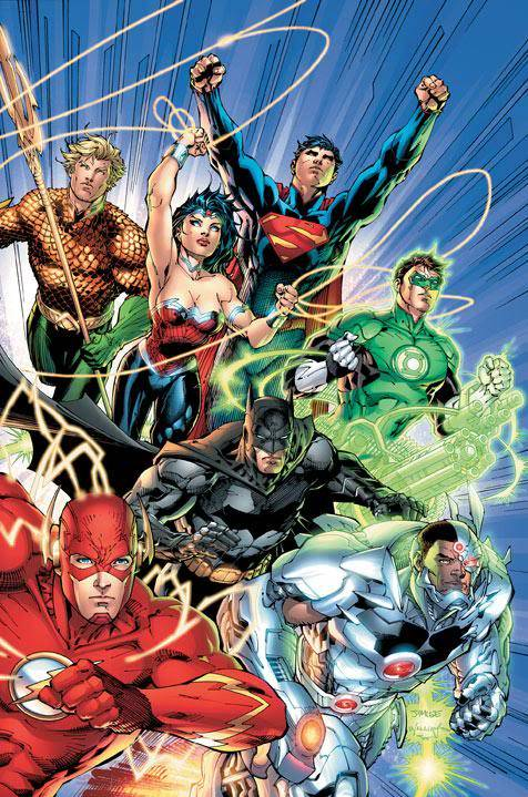 DC To Relaunch 52 Titles in September JLA1