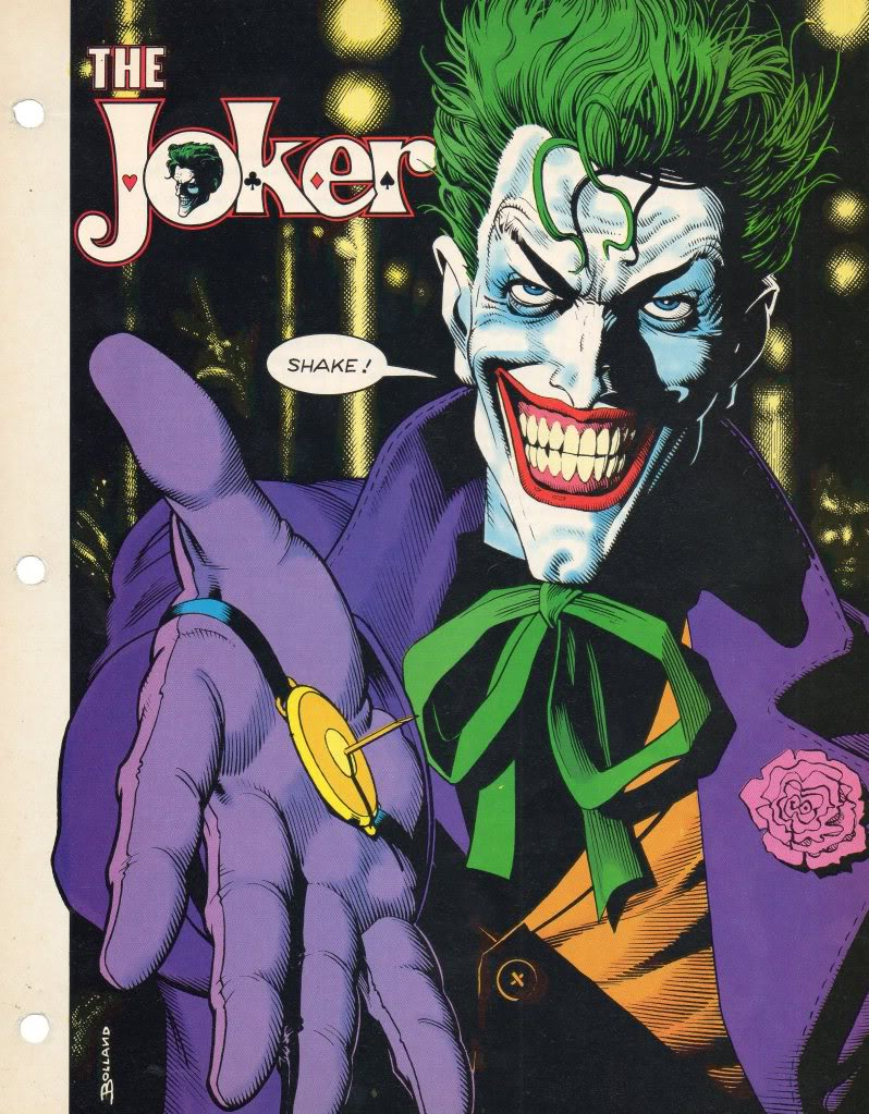 The DC Universe: a Rough Guide JokerbyBolland