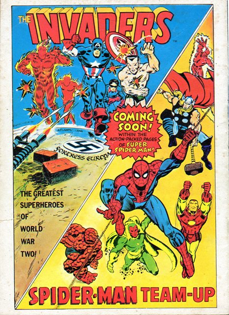 The Classic Marvel Comics Thread Marvelad
