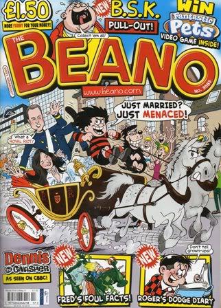 Royal Wedding Beano & Other Topical Comics RoyalWeddingBeano