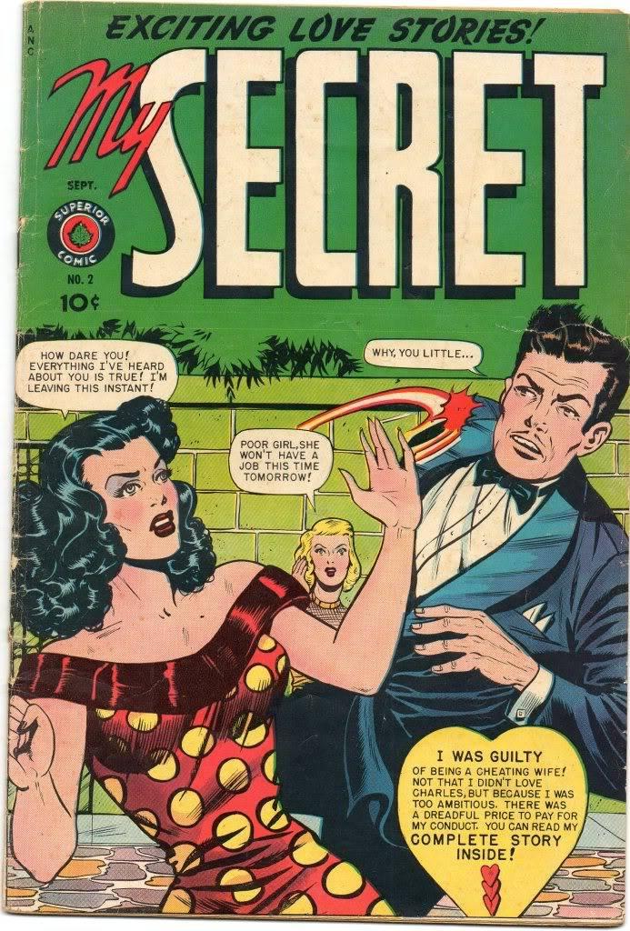 Romance Comics: setting back women's lib by a century? Img240