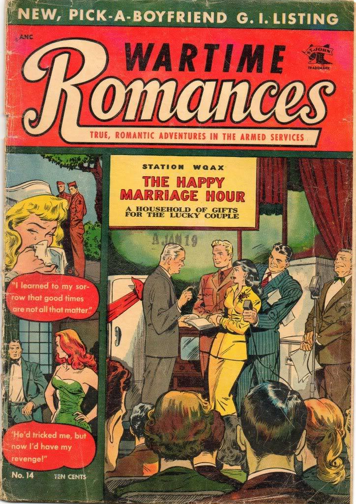 Romance Comics: setting back women's lib by a century? Img241