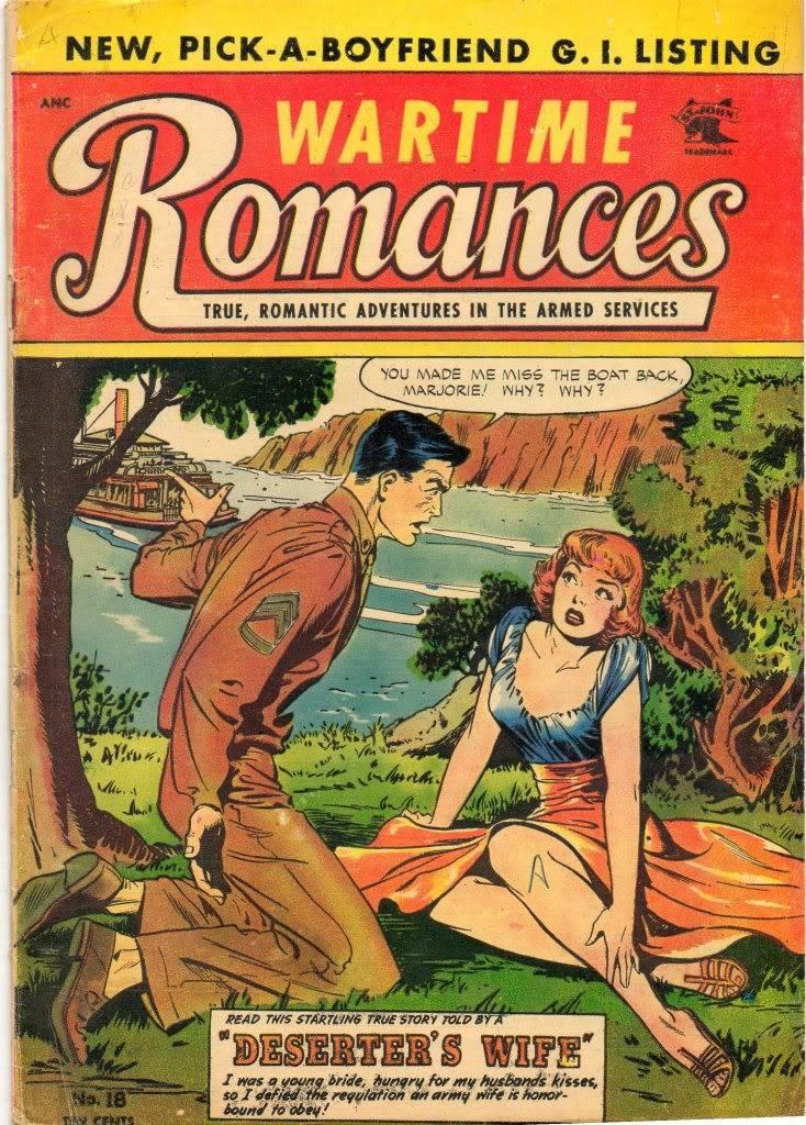 Romance Comics: setting back women's lib by a century? Img242