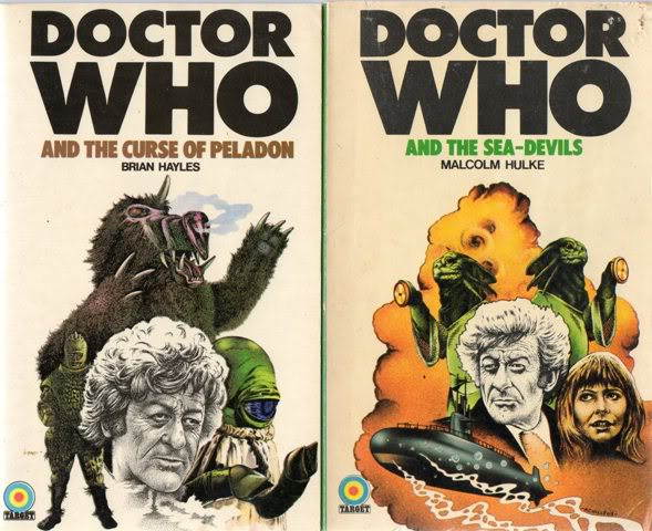Favourite Doctor Who Book Covers Img505