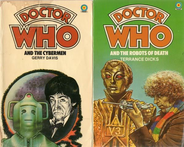 Favourite Doctor Who Book Covers Img506