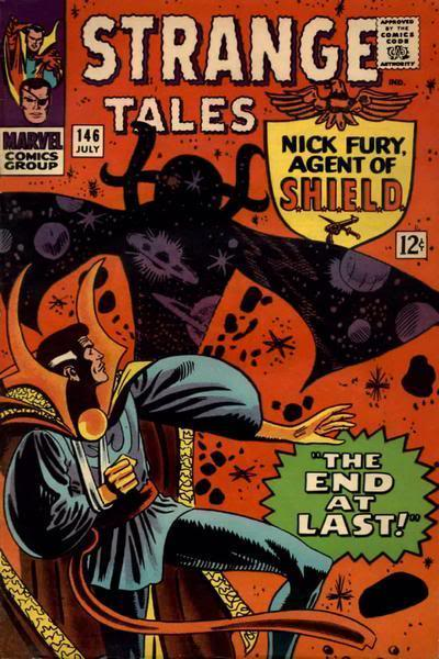Classic Comic Covers Strangetales146