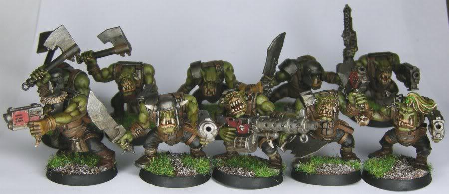 Les Orks d'Alaric - surtout du Goff Alaric_-_Orks_-_Boyz_2