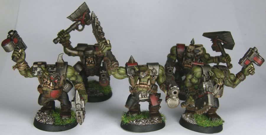 Les Orks d'Alaric - surtout du Goff Alaric_-_Orks_-_Nobz