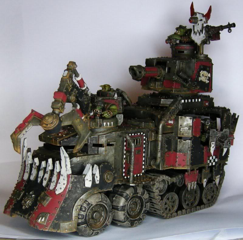 Les Orks d'Alaric - surtout du Goff Cantonain-Battlewagon_ork_1