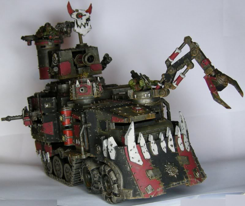 Les Orks d'Alaric - surtout du Goff Cantonain-Battlewagon_ork_2