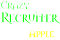 What are you doing/thinking right now? - Page 2 Crazyrecruitapple