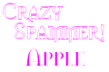 New Avatar Crazyspammerapple