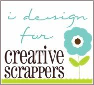 Crop chez moi le 16 mars 2013  Creativescrappersbadge