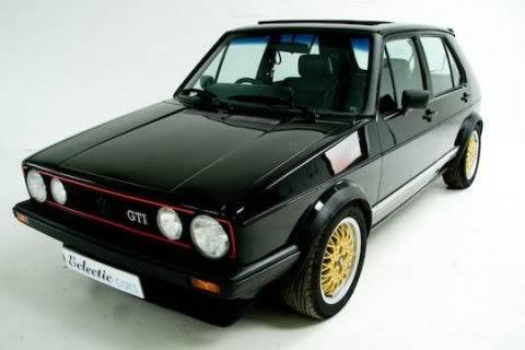 GALERIA MKI... 1983_Volkswagen_GTI_Euro_UK_4_Door_Golf_Rabbit_Front_1