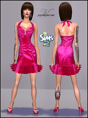 The Sims Café - Portal Kamikitten_afFormal_ValentinesDayDress3_thumb