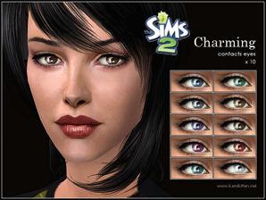 The Sims Café - Portal Kamikitten_costumemakeup_CharmingContactEyes_thumb