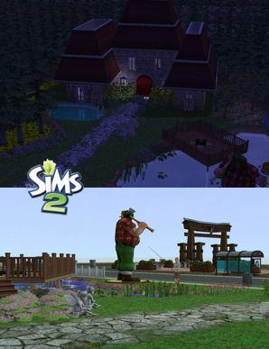 The Sims Café - Portal TSCafe_antoniocb_CasaNoBosqueII-thumb
