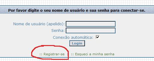 General Instructions for non Portuguese speaking members Registrar1