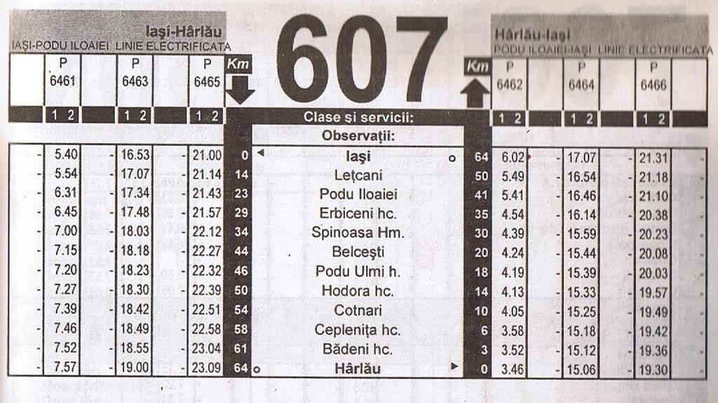 607 : Podu Iloaiei - Harlau 607