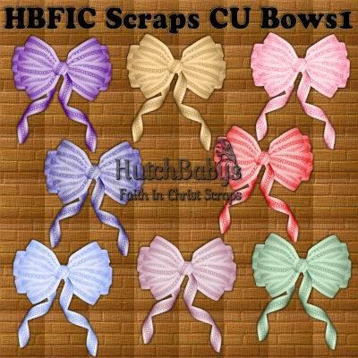 Scraps CU Bows 1 (HBFIC ) HBFICScrapsCUBows1