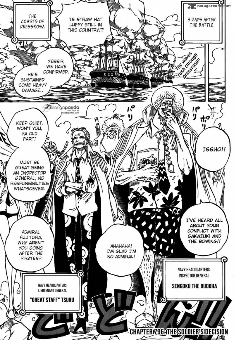 One Piece Kapitel 806: Bei der Festung des rechten Bauches One-piece-5887051