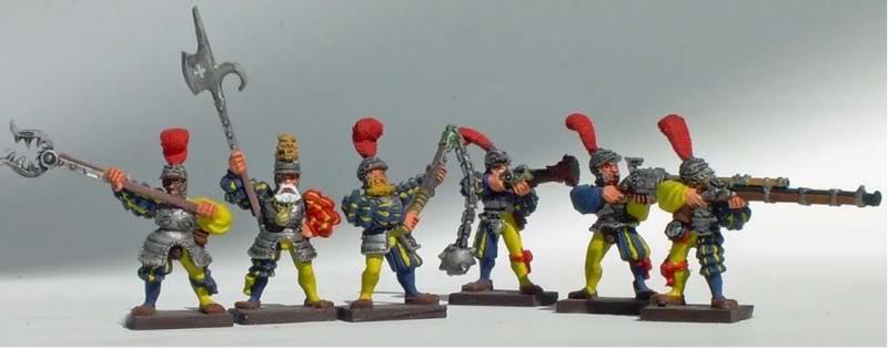 nuln - Newish Warband: Mercenaries of Nuln Wagoncrew