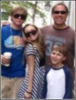 Jesse McCartney's family Jesfam