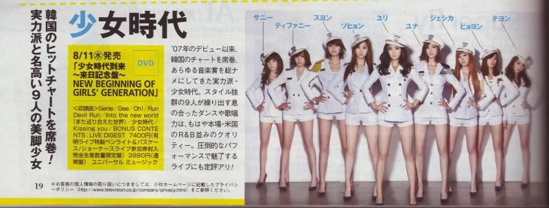 [ARTICLE] SNSD ในนิตยสาร 'The Television'  O0800030410664753462