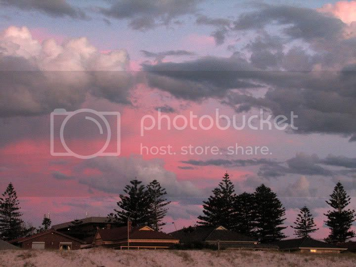 Sunset at Grange 18.2.07 IMG_8511a